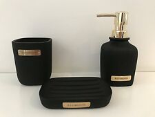 Gold Toothbrush Holder In Bath Accessory Sets For Sale Ebay