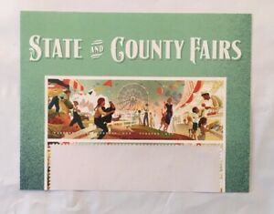 State and County Fairs Forever Stamps Title Strip - Scott #5401-5404 FREE SHIP