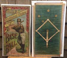 Ultra RARE 1901 National Game Of Base Ball McLoughlin Bros Box American League