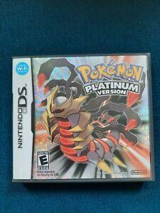 Pokemon Platinum (NIntendo DS) Case Only *NO GAME* AUTHENTIC