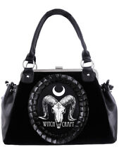 Restyle Ram Skull Witchcraft Cameo Tas Bag Gothic Occult