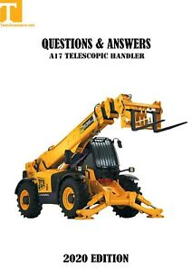 CPCS & NOCN A17 Telescopic Handler Theory Test Answers BOOK + PDF 2020
