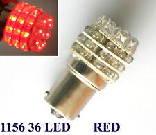 2x BA15S 1156 T25 Red 36 LED Indicator Signal Car Light Bulb Lamp DC 12V
