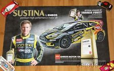 2013 Tanner Foust Eneos Motor Oil Ford Fiesta SEMA Show Global Rally GRC poster