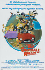 The gumball rally Raul Julia vintage movie poster print