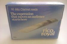 Rico Royal Alto Clarinet Reeds, Box of 10, Strength 4