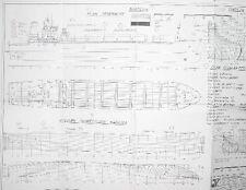 Hollandia containership Cargo/ Container ship plans