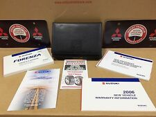 05, 2005 Suzuki Forenza owners manual complete set NEW