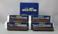 American Flyer 6-48992 S Scale Pennsylvania Heavyweight 4-Pack/Box