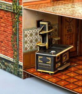 Furniture for Dolls Kitchen Furnishing Dollhouse Dining Room Miniature 1/12