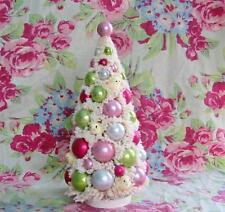 Bethany Lowe Easter Chick Bottle Brush Tree 13 inches