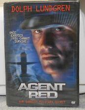 Agent Red (DVD, 2004) RARE DOLPH LUNDGREN ACTION THRILLER 2000 BRAND NEW