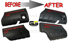 CUSTOM LS2, LS3 or LS7 C6 Fuel Rail Covers * Painted Color Coded Hummer Chevelle