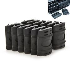 Universal 20mm Weaver Picatinny Rubber Rail Covers Hand Guard MW