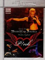 P!NK - LIVE AT WEMBLEY ARENA  DVD NEW