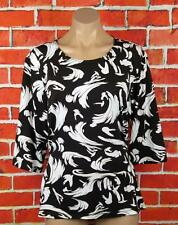 NONI B XL WOMANS, WHISPERING WIND LS BLOUSE