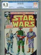 1980 MARVEL STAR WARS #42 ESB 1ST APPEARANCE BOBA FETT CGC 9.2 WHITE BOX5