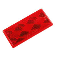 RED 40132-5 Grote Reflector Retail Pack Mini Stick-ON Rectangular