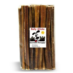 "6"" & 12"" Inch Junior Bully Sticks (Perfect For Small Dogs) Best Dog Chew Treats"