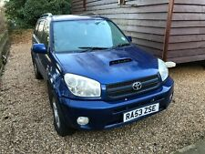 2003 TOYOTA RAV 4 D-4D XT4 ESTATE WITH LEATHER NOT MOT SPARES, REPAIRS OR EXPORT