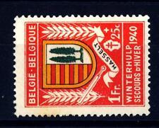 BELGIUM - BELGIO - 1940 - Inverno: Stemma