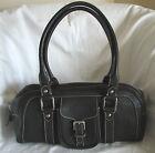 DOONEY & BOURKE Brown Pebbled Leather Shoulder Handbag Purse Bag-MINT