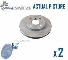 2 x NEW BLUE PRINT FRONT BRAKE DISCS SET BRAKING DISCS PAIR OE QUALITY ADT34399