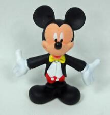 "Disney McDonalds Tuxedo Mickey Mouse Cake Topper PVC Figurine 3"" Tall"