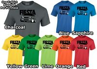 Ford Fiesta Mk5 (UK) T-Shirt Gift For Dad, Uncle, Brother ETC!
