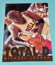 Michael Jordan 1995-1996 Fleer Total D *BULLS* HOF