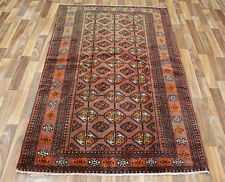 OLD PERSIAN TURKMEN TRIBAL RUG, WITH NICE COLOUR 195 X 120 CM