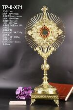 Rare Fine Monstrance Ornate Beautiful with Tabor Pedestal TP-8-X71