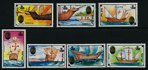 Mongolia 2095-2101 MNH Discovery of America, Ships, Columbus, Dolphin