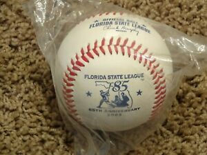 RARE Rawlings Official FLORIDA STATE LEAGUE 85TH ANNIVERSARY BASEBALL~BRAND NEW!