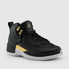 the latest 7c490 9c8c2 Nike Air Jordan Retro 12 Reptile Midnight Black Metallic Gold AO6068-007  Wmns