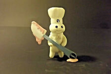 """Pillsbury Doughboy Collector Figurines """"Spreading It On Thick"""" Danbury Mint"""