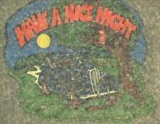 Have A Nice Night vintage 70s iron on t shirt transfer full size Nos
