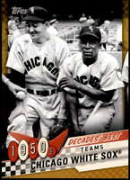 Chicago White Sox 2020 Topps Decade's Best Series 2 5x7 Gold #DB-10 /10