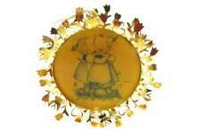 Vintage Hummel 24K Gold Christmas Ornament Collection Telling Her Secret 1986