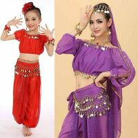 Women & Children Girl Belly Dance Costumes Kids Belly Dancing Egypt Dance Cloth
