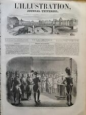 L'ILLUSTRATION 1849 N 312 LECTURE DE LA CONDAMNATION DES ASSASSINS  DU Gal. BREA