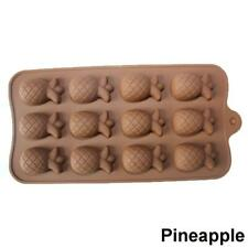 Silicone Cake Mould 15 Chocolate Pineapple DIY Baking Cocking Candy Mould