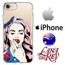 iPhone Case Cover Silicone Smooth Classic Lana Del Ray Indie Rock Marilyn Desig