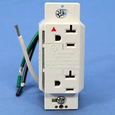 Cooper White ISOLATED Ground SURGE Suppressor Receptacle Outlet 5-20 20A IG1210W