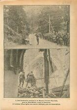 Sammies US Army Messe Ruines Eglise de Saint-Mihiel France 1918 WWI