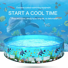 122/152cm Children Swimming Pool Large Family Summer Outdoor Play PVC