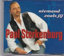 Paul Sterkenburg-Niemand Zoals Jij cd maxi single