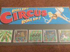 Présentation timbres cirque 9-4-02