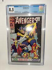 Marvel Avengers #51 Cgc 8.5 Iron Man Submariner #1 Ad FREE SHIPPING 1968 SILVER