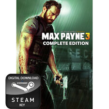 MAX PAYNE 3 THE COMPLETE EDITION PC STEAM KEY